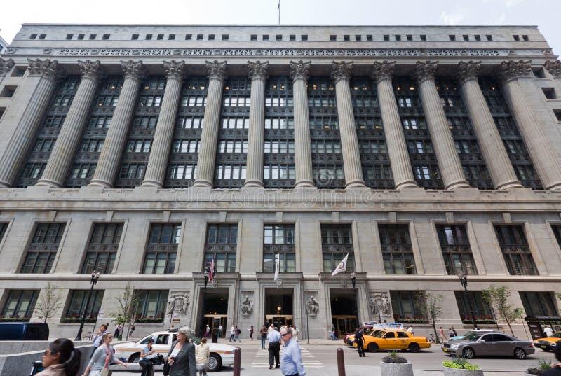 chicago urząd miasta zdjęcia royalty free