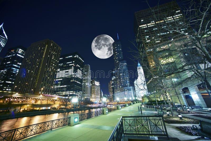 Chicago USA fotografering för bildbyråer