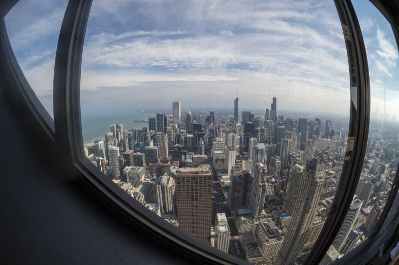 Chicago van de binnenstad royalty-vrije stock afbeeldingen
