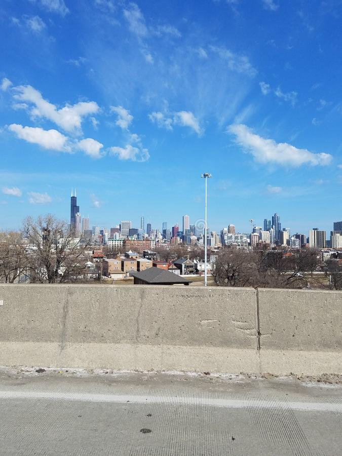 Chicago view royalty free stock images