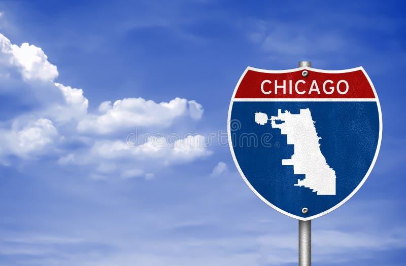 Chicago w Illinois fotografia stock