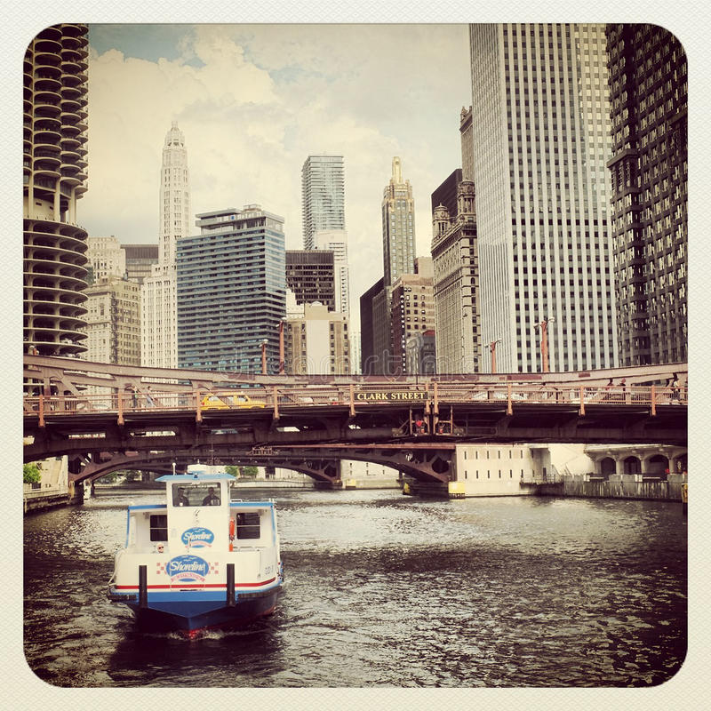 Download Chicago Water Taxi Editorial Stock Image - Image: 31550634