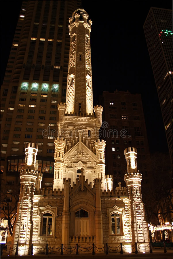 Download Chicago Water Tower Royalty Free Stock Images - Image: 1622629