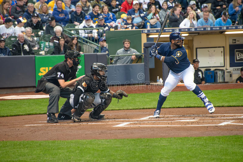 Chicago White Sox, Milwaukee Brewers lizenzfreies stockfoto