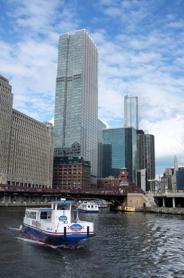 Chicago wody taxi obraz stock