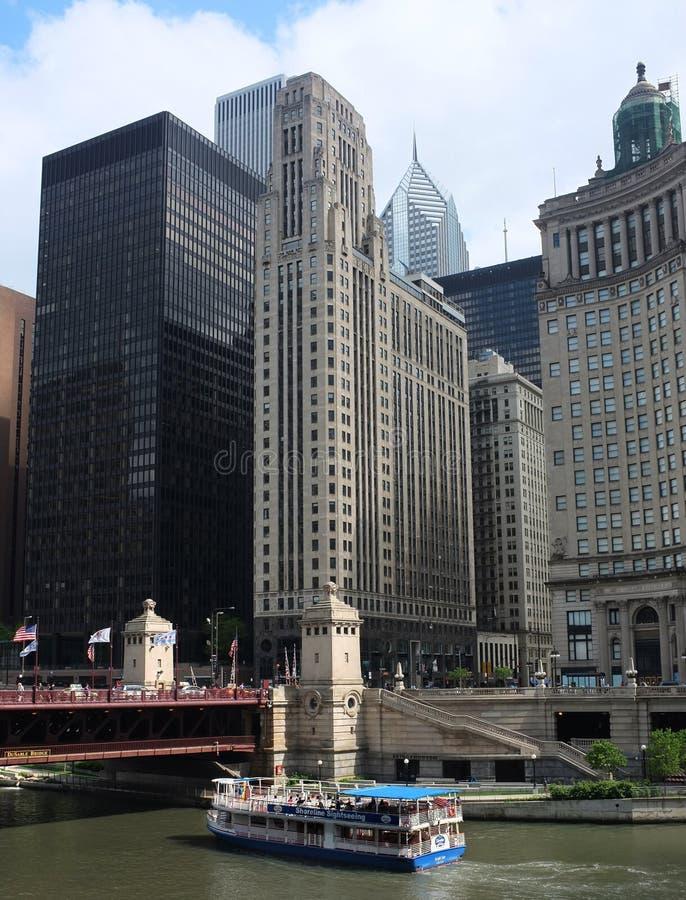 Chicago wody taxi zdjęcia royalty free