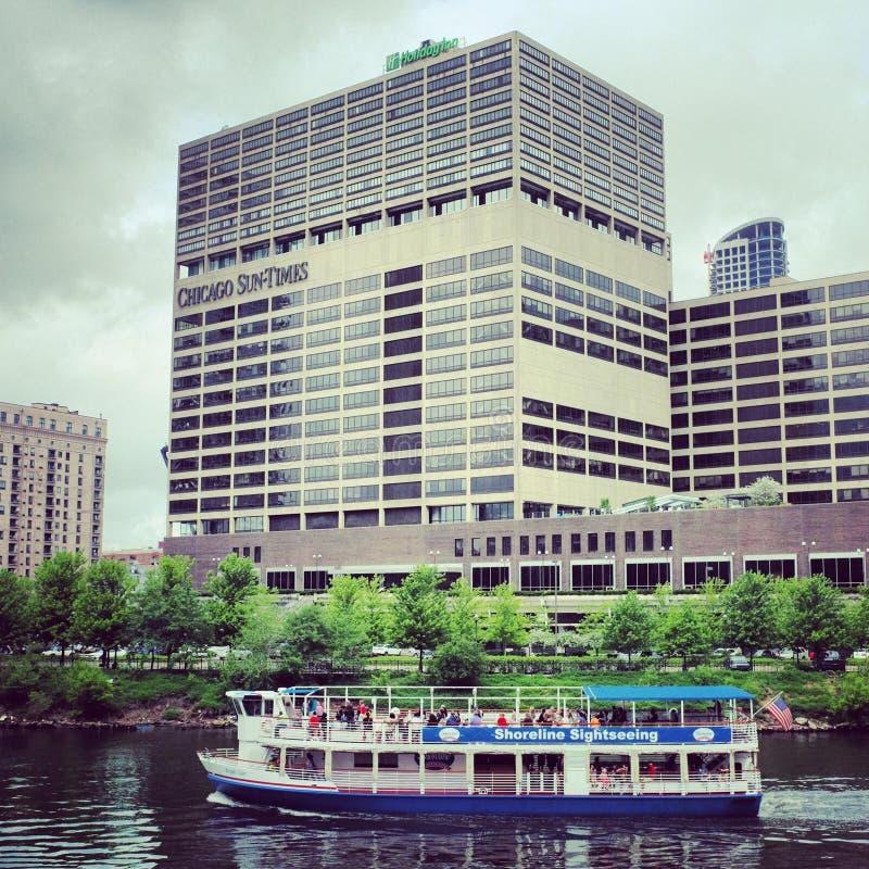 Chicago wody taxi zdjęcie stock