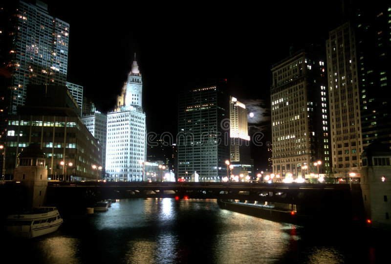 Chicago Wrigley Building royalty free stock images