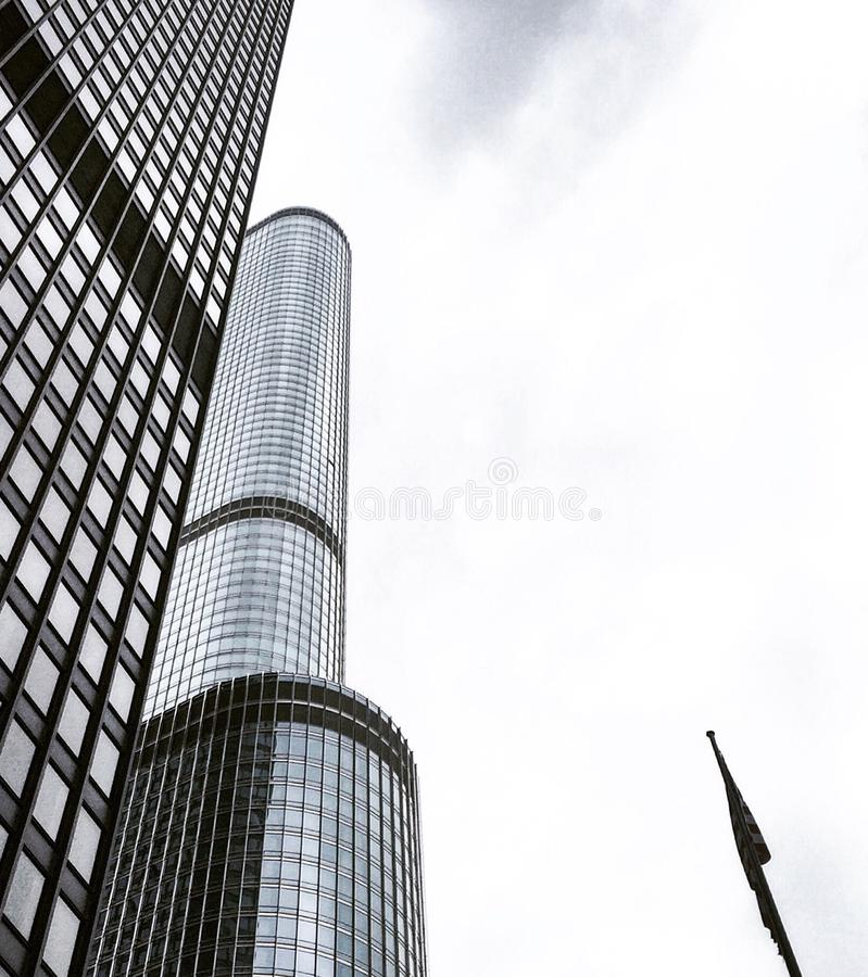 Chicagowscy budynki obraz stock