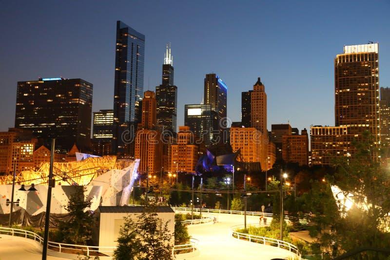Chicagowski Maggie Daley park zdjęcie royalty free