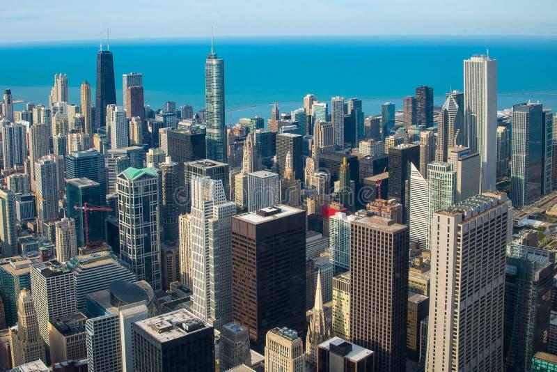 Chicagowski usa zdjęcie royalty free