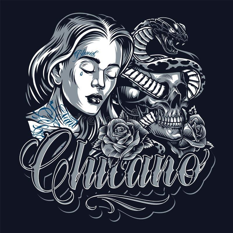 5 Chicano Stock Illustrations