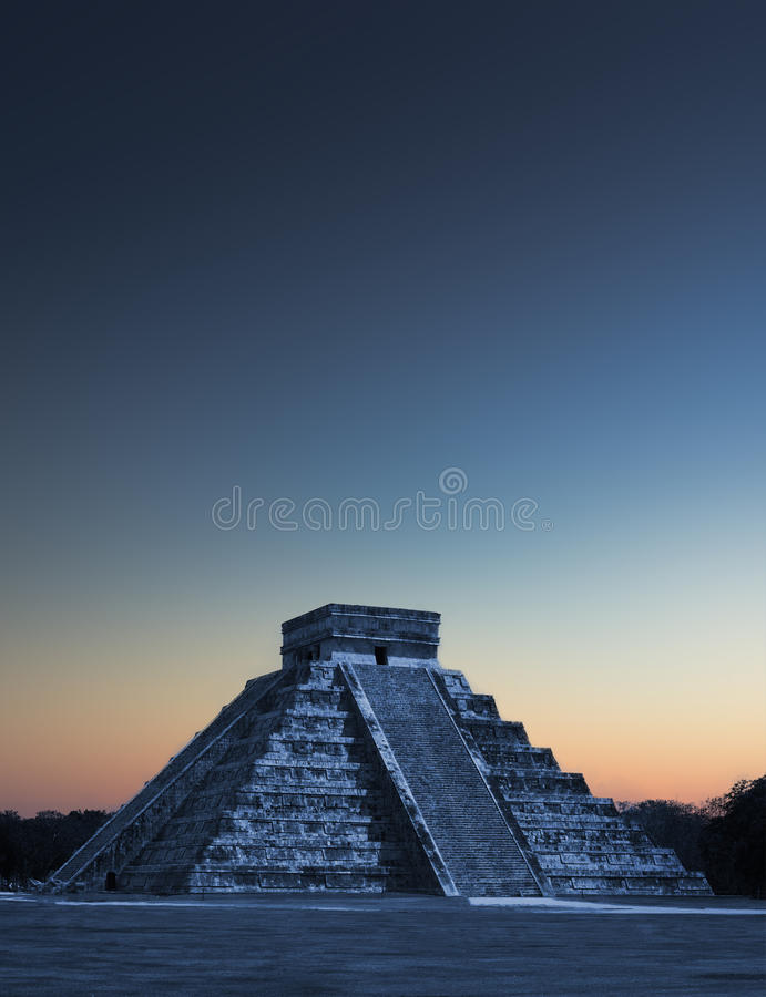 Chicen Itza Μεξικό στοκ φωτογραφία με δικαίωμα ελεύθερης χρήσης