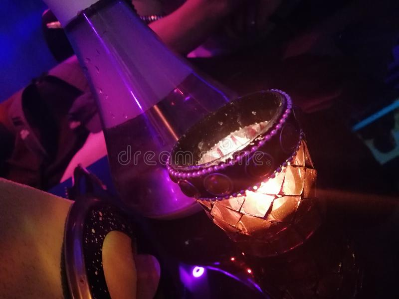 Chicha arabe traditionnel photo stock