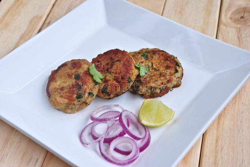 Chiche-kebab de Shammi photo stock