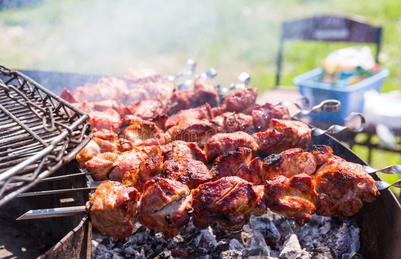 Chiche-kebab extérieur photo libre de droits