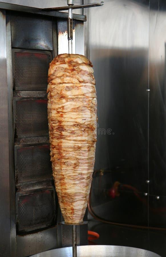 Chiche kebab turc de doner de poulet photo stock image for Cuisinier kebab