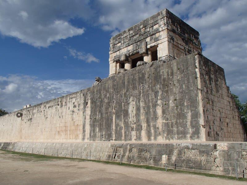 chichen пирамидка yucatan Мексики itza стоковое фото