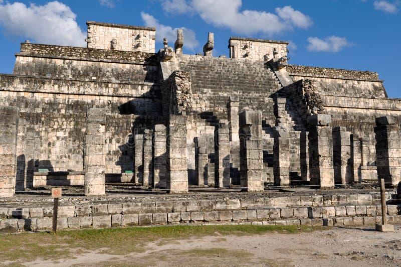 chichen руины itza майяские стоковые изображения