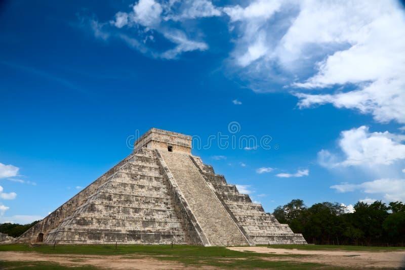 chichen il itza Messico immagine stock libera da diritti