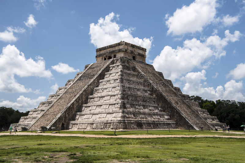 chichen itza obrazy stock
