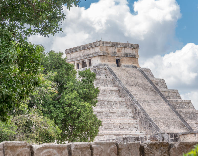 Chichen Itza royalty free stock image