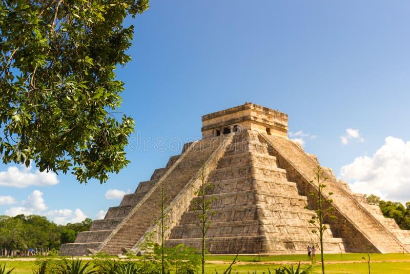 Chichen Itza, Cancun, Mexico royalty-vrije stock foto's