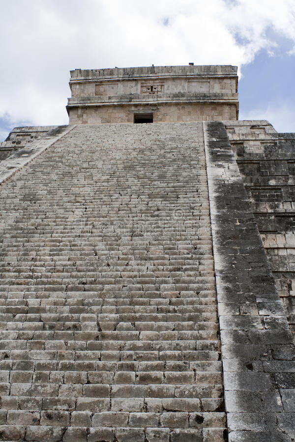 Download Chichen Itza east side stock photo. Image of indigenous - 12396418