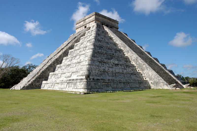 Chichen Itza em México fotografia de stock