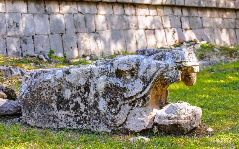 Chichen Itza, en stor pre-Columbian stad som byggs av den borgerliga mayaen arkivfoton