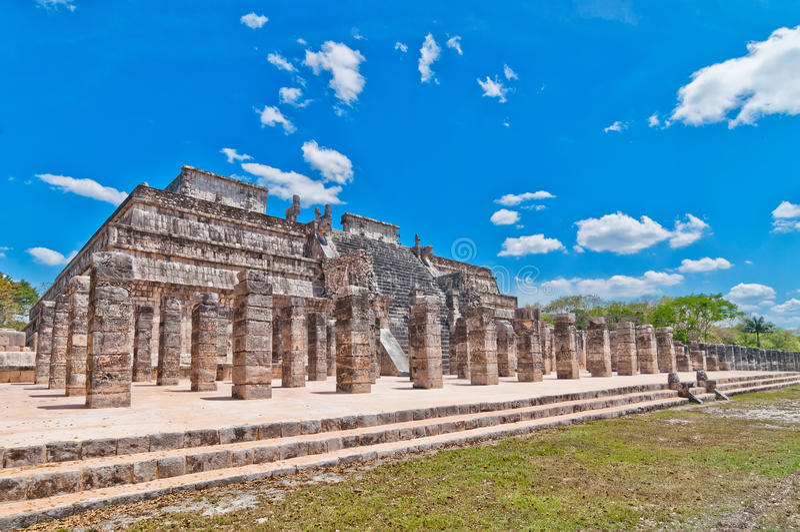 Chichen Itza, Jukatan -, Meksyk obraz stock