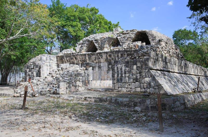chichen itza majowia ruinę obrazy royalty free