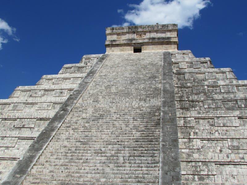 Chichen Itza - Maya stock foto