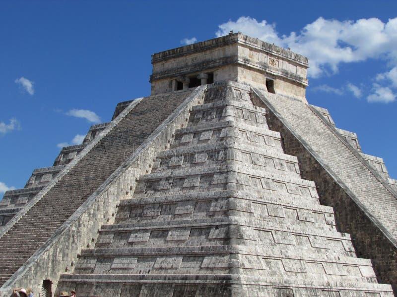 Chichen Itza - Maya royalty-vrije stock foto's
