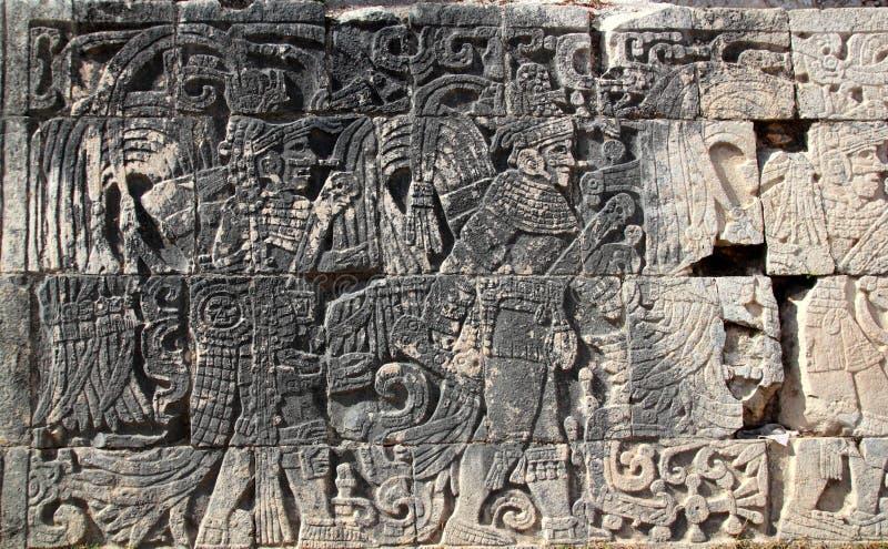 Download Chichen Itza Mayan Pok-ta-pok Ball Court Stock Image - Image of heritage, ancient: 18936139