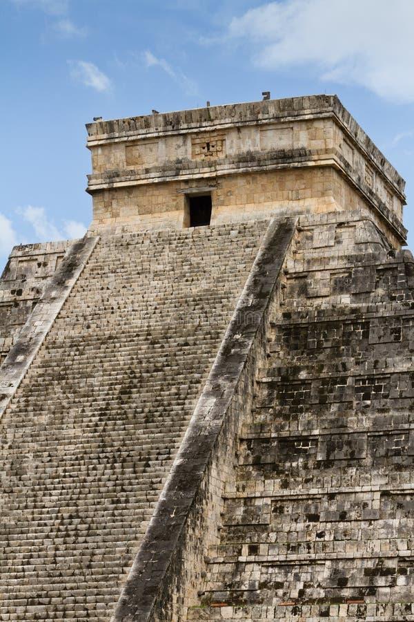 Chichen Itza Mayan pyramid royalty free stock photography