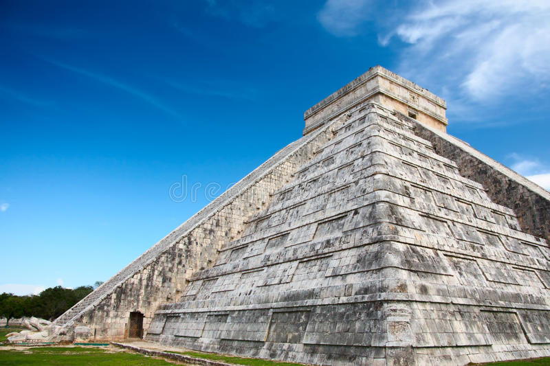 Chichen Itza, Mexico. One of the New Seven Wonders of the World royalty free stock photos