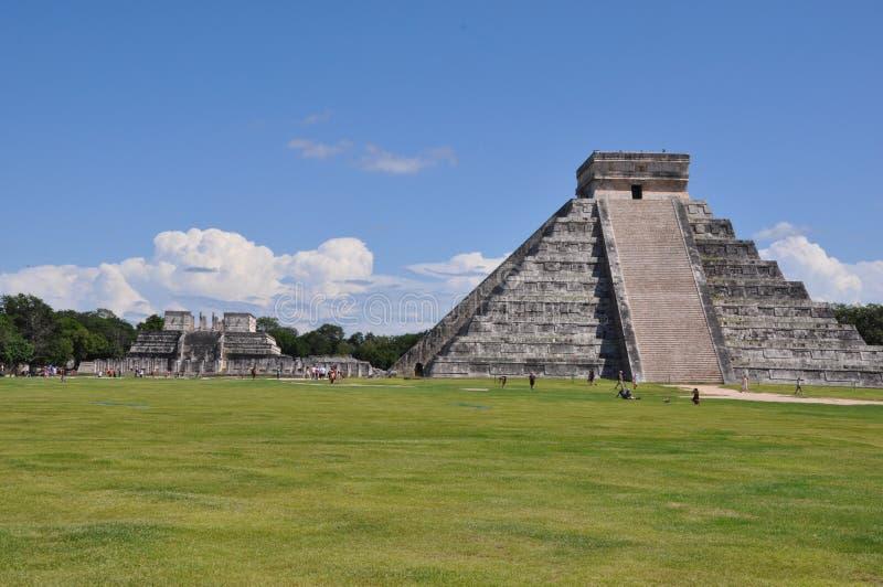 Chichen Itza in Mexico royalty-vrije stock foto's