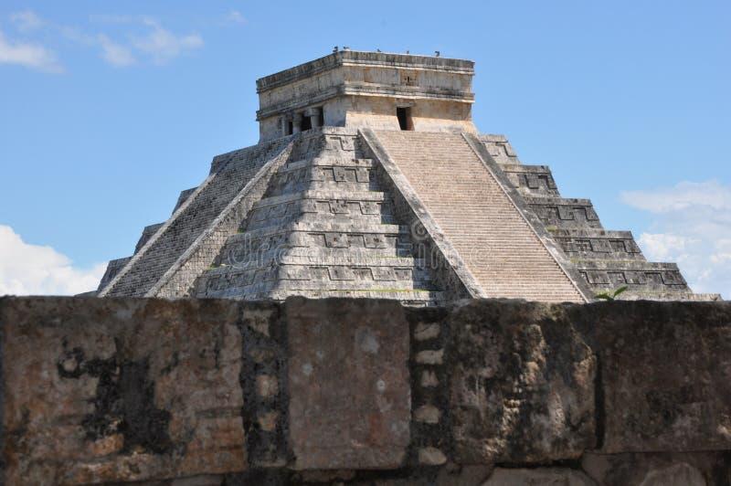 Chichen Itza in Mexico stock afbeelding