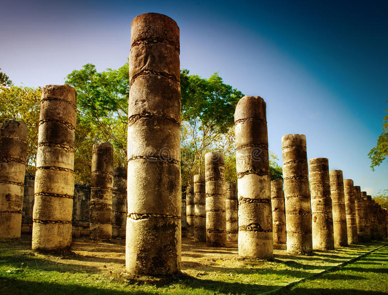 Chichen Itza, Mexico royalty free stock images