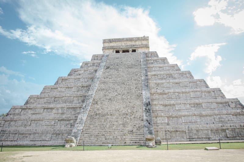 Chichen Itza, Mexico arkivbild