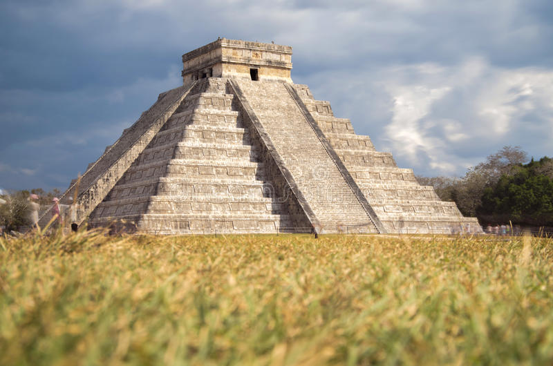 Chichen Itza,Mexico royalty free stock photography