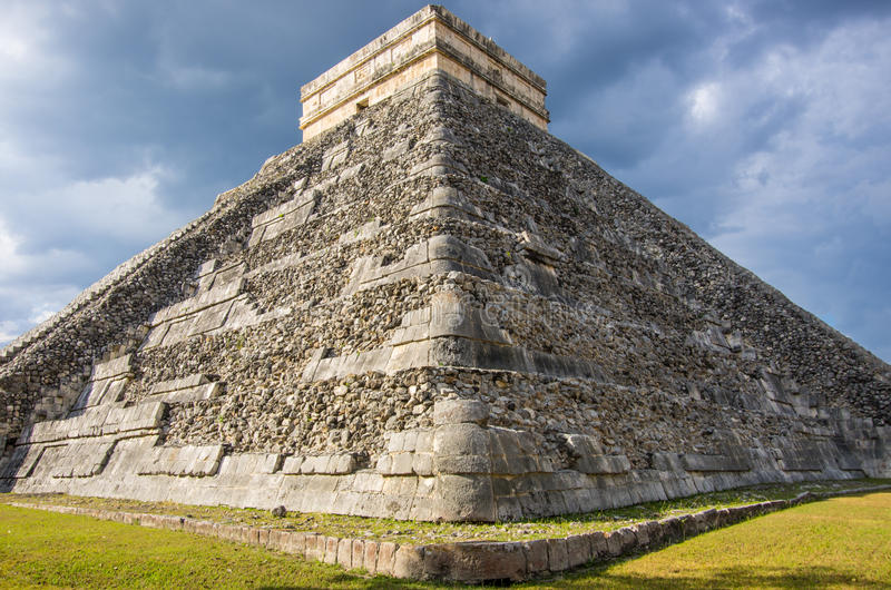 Chichen Itza,Mexico stock photos