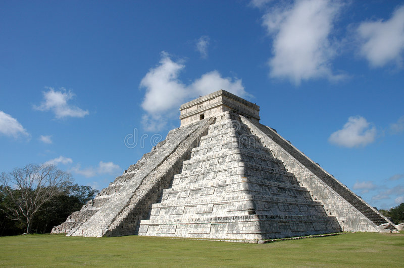 Chichen Itza - Mexiko stockfotografie
