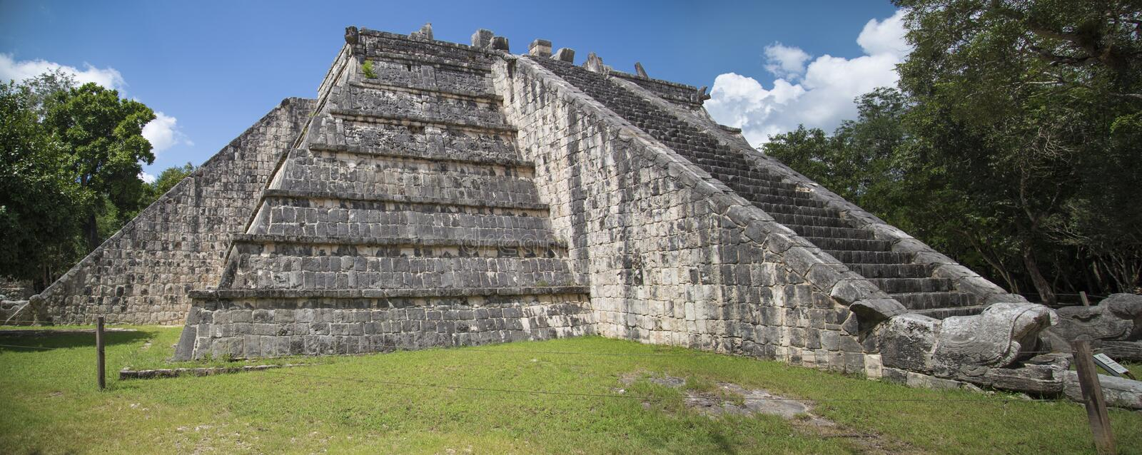 Chichen Itza - Osario royalty free stock images