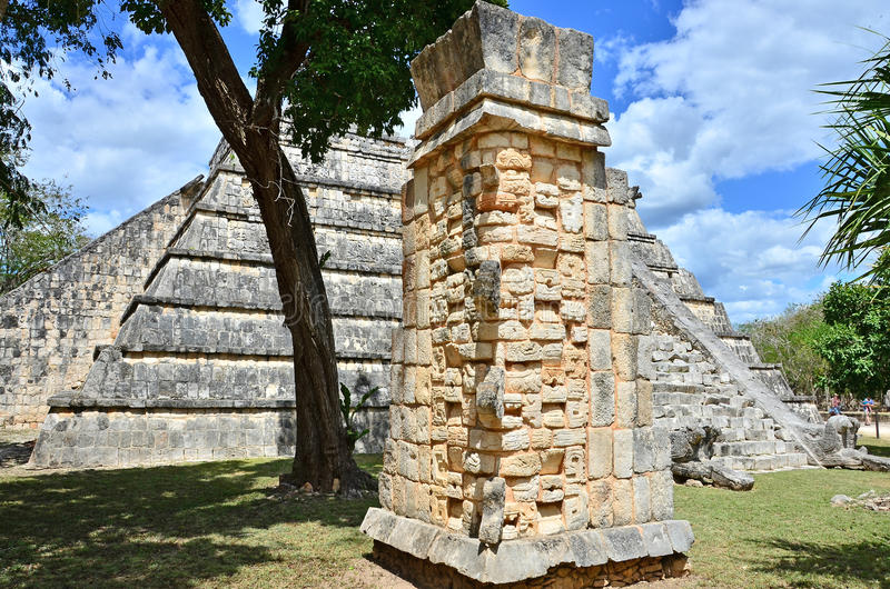 Download Chichen Itza - Ossario stock photo. Image of famous, mayan - 19752538