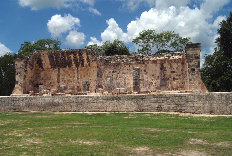 Chichen Itza ruins in Mexico stock image