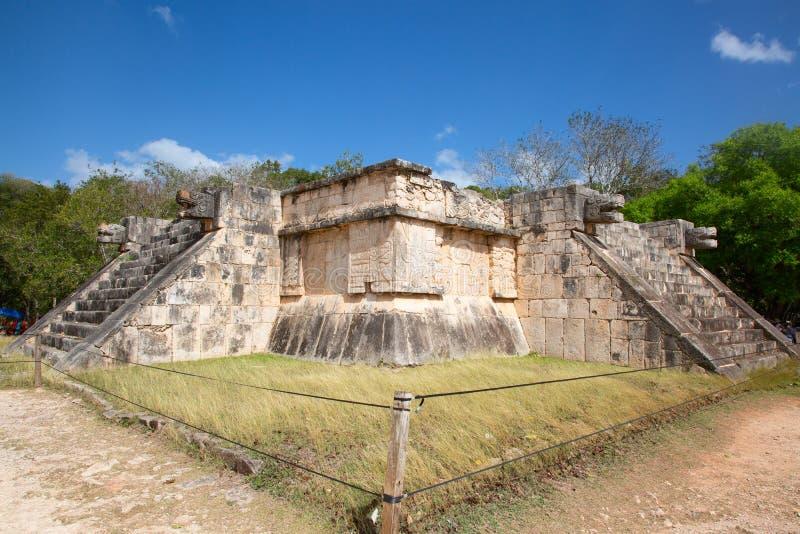Chichen-Itza. Ruins of the Chichen-Itza, Yucatan, Mexico stock images