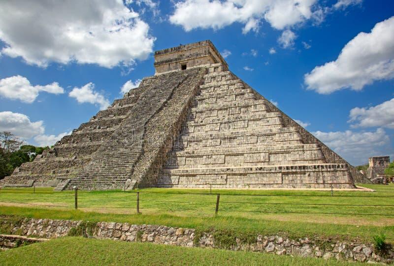 Chichen-Itza. Ruins of the Chichen-Itza, Yucatan, Mexico stock photos