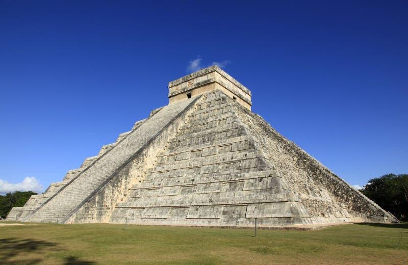 Chichen Itza in Yucatan royalty-vrije stock foto's